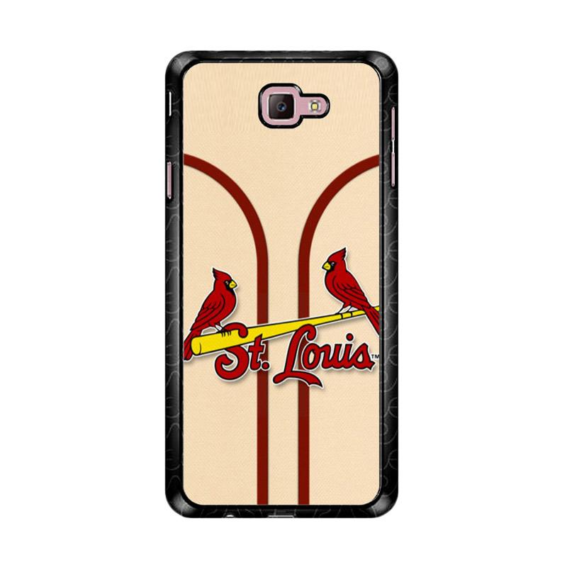 Flazzstore St Louis Cardinals Logo Z4801 Custom Casing for Samsung Galaxy J7 Prime