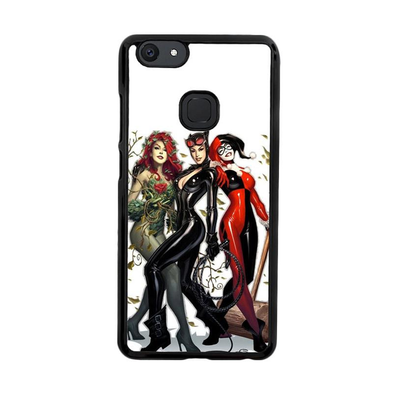 Flazzstore Poison Ivy Harley Quinn,Batgirl And Catwoman  Z0225 Custom Casing for Vivo V7