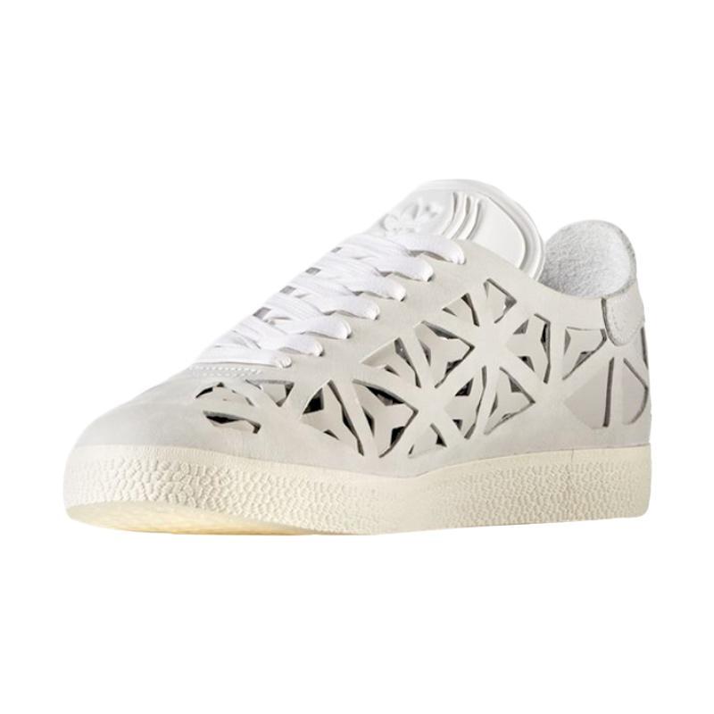 adidas Gazelle Colout Casual Sepatu Olahraga Wanita - Warm White [BB5179]