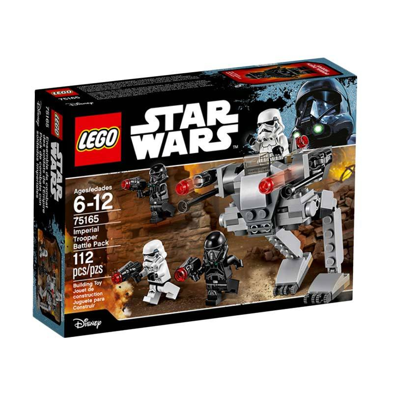 LEGO 75165 Star Wars Imperial Trooper Battle Pack Mainan Blok & Puzzle