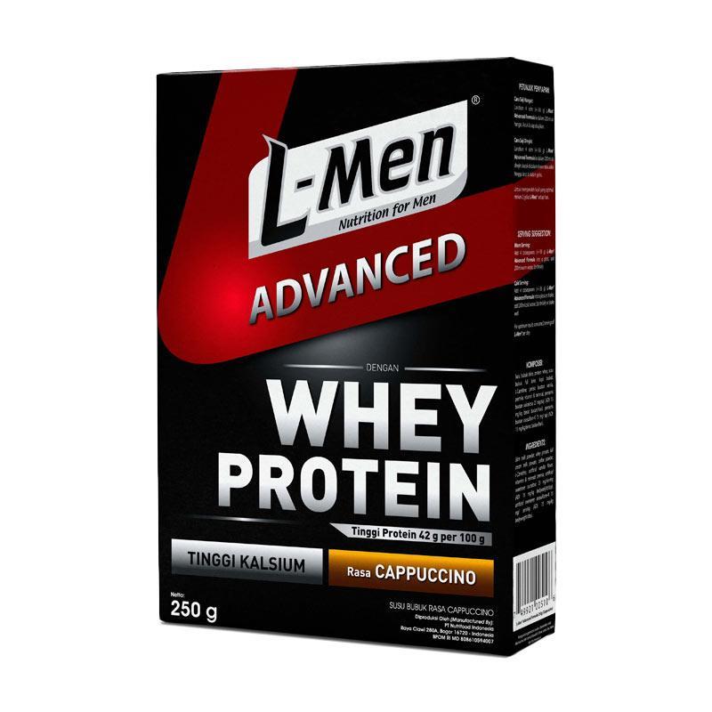 harga L-Men Hi Protein Whey Advanced Cappucino Suplemen Kesehatan Blibli.com