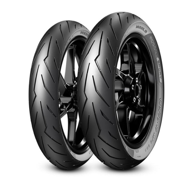 Jual Pirelli Diablo Rosso Sport 80 90 17m Ctl40 Drs Depan Belakang 3613900 Preorder Online November 2020 Blibli