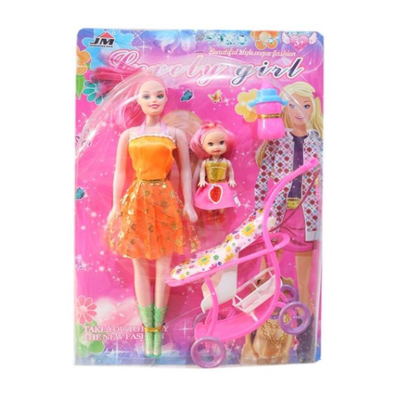 Jual Shiny Toys Boneka Barbie Girl Set Mainan Anak Online November 2020 Blibli Com