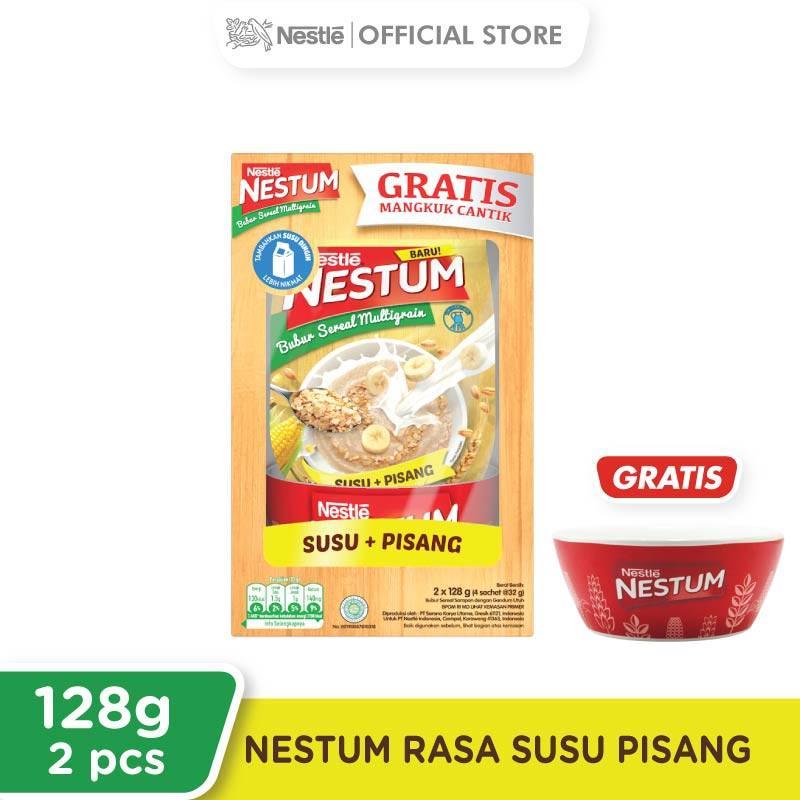 Nestle Nestum Paket Spesial Susu Pisang Sereal