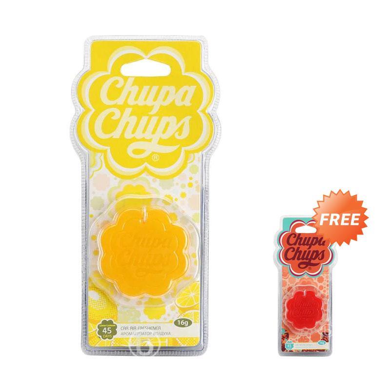Paket B1G1 Parfum Mobil Chupa Chups Tali Aroma Lemon Semangka CHP 502 CHP 505
