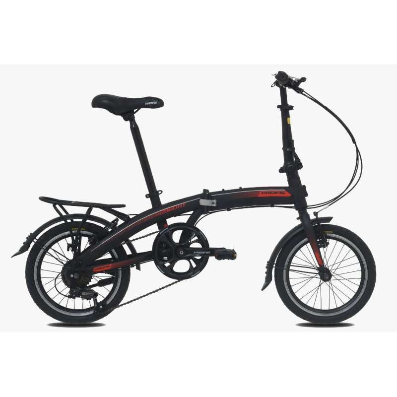 Pacific 2980 HT VB Sepeda Lipat 16 inch 7 Speed