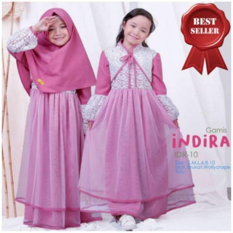 Jual Nanda Fashion Shop Gamis Anak Usia 7 9 Tahun Baju Muslim Anak Perempuan Indira Kids Syari Online Maret 2021 Blibli
