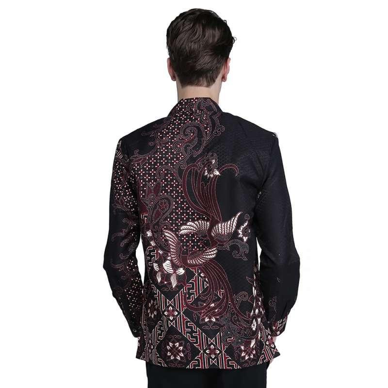 Jual Kemeja Batik Pria Lengan Panjang Terbaru Bahan Dobby Premium Rianty  Arlo Online April 2021 | Blibli