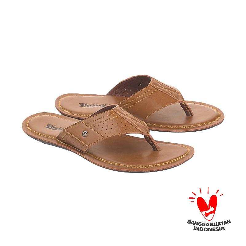 Blackkelly Marema LLO 664 Sandal Casual Pria - Coklat