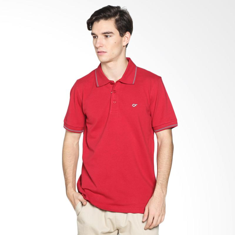 Country Fiesta CFMPB11870 Mens Polo - Red Extra diskon 7% setiap hari Extra diskon 5% setiap hari Citibank – lebih hemat 10%