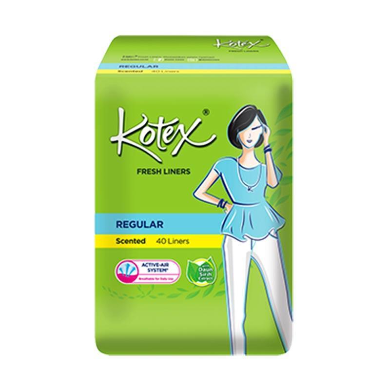 Kotex Fresh Liner Betel Leaf Pantyliner [40 Pads]