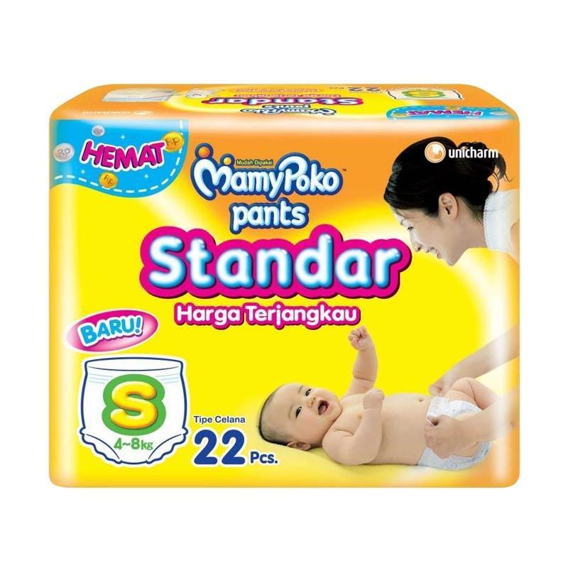MamyPoko Popok Pants Standar [Size S/22 pcs]