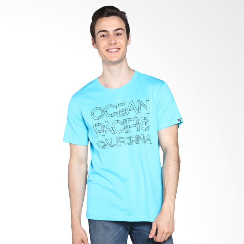 Ocean Pacific Young Mens Tshirt - Blue 03MTY16050