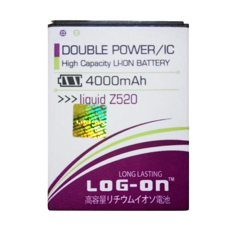 Log On Double Power Baterai for Acer Liquid Z520 [4000 mah]