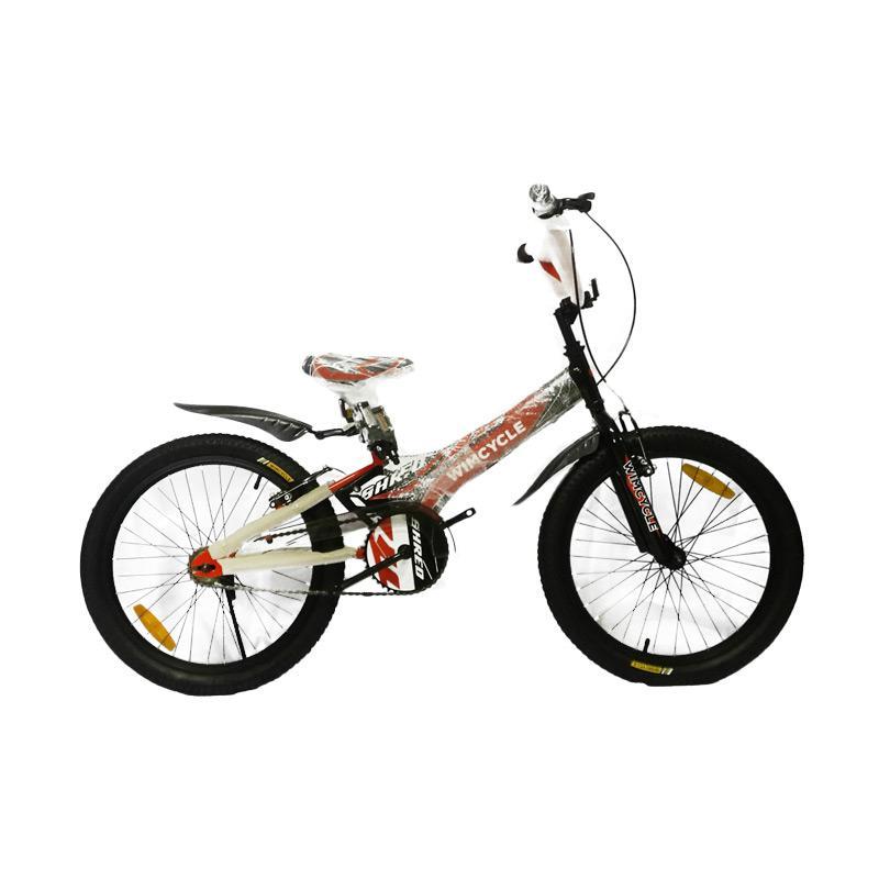 harga Wim Cycle Shred BMX Sepeda Anak - Black Orange [20 Inch] Blibli.com
