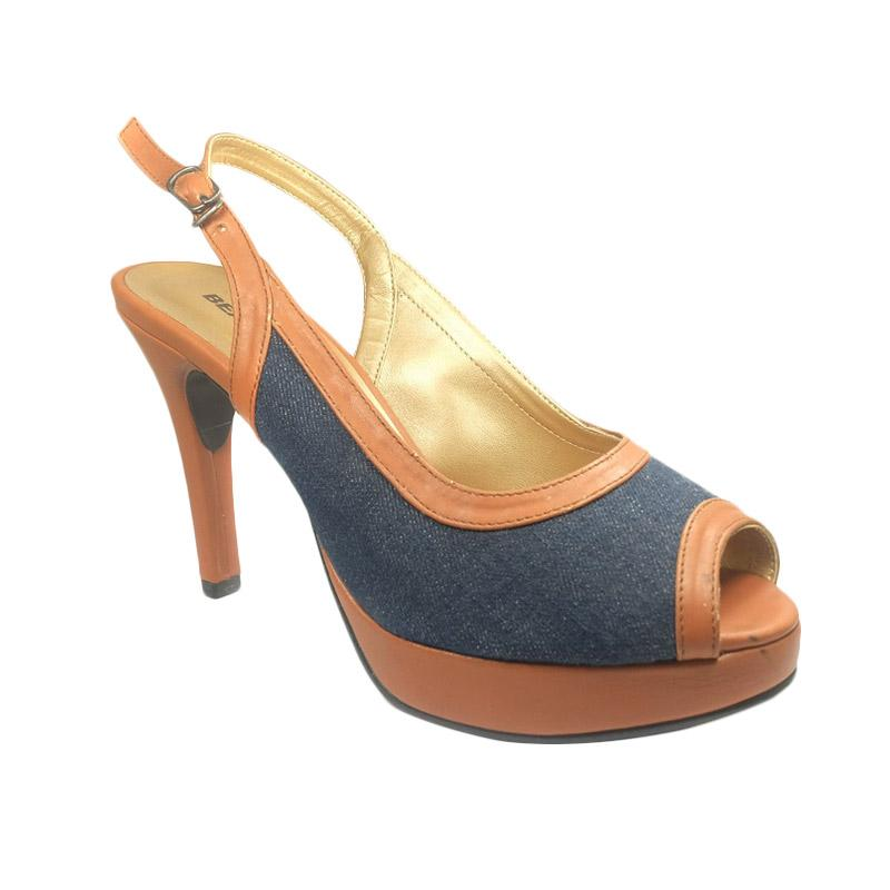 Beauty Shoes 910 Heels Sepatu Wanita - Biru