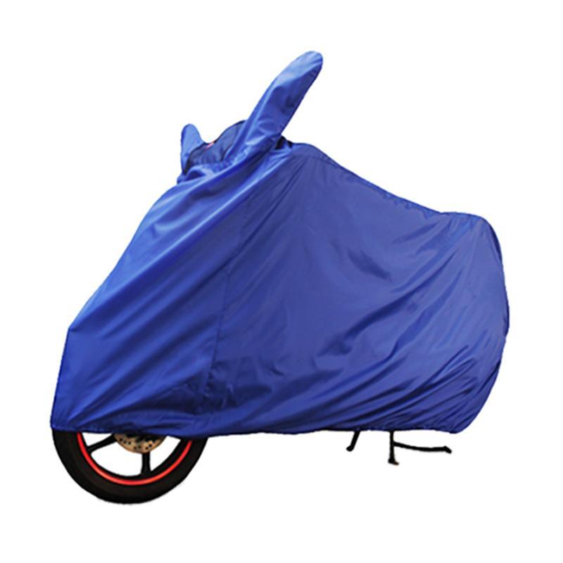 Cover Super untuk Motor - Biru [Size L]