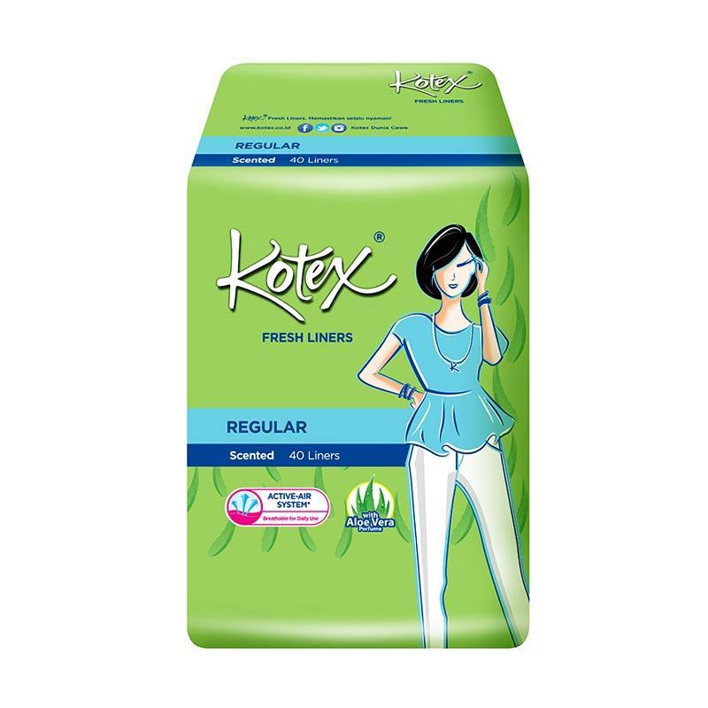 Kotex Fresh Liner Aloe Vera Pantyliner