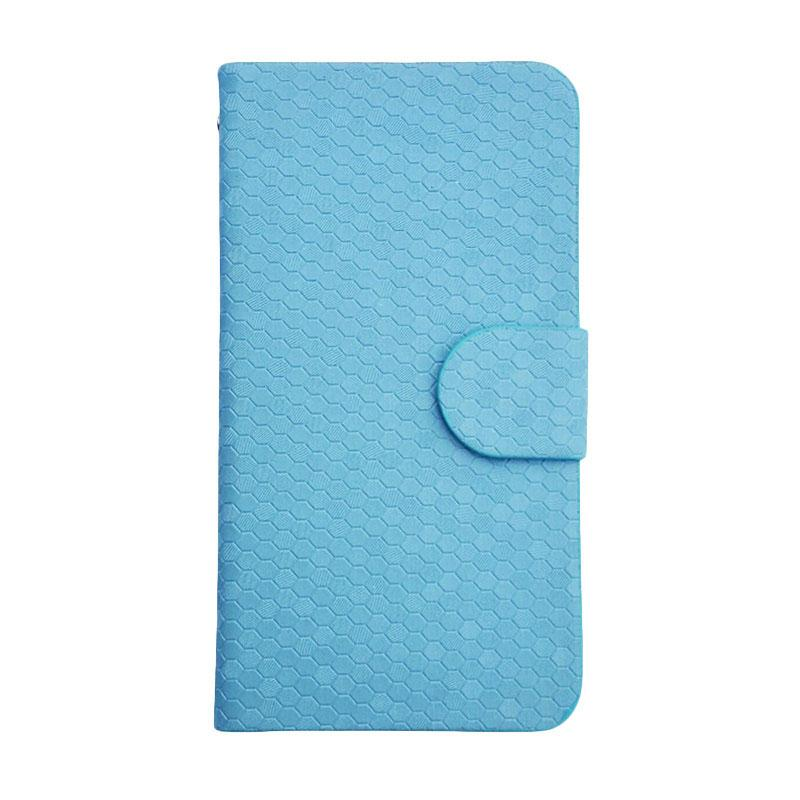 OEM Case Glitz Cover Casing for Sony Xperia E4 - Biru