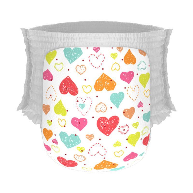 Happy Diapers Pant Popok Bayi - Love Me [Size M/30 pcs/A09]