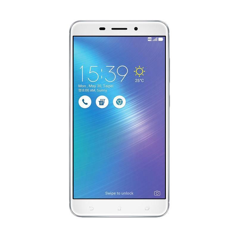 Asus ZenFone 3 Max ZC553KL Smartphone - Silver [32GB/ 3GB]