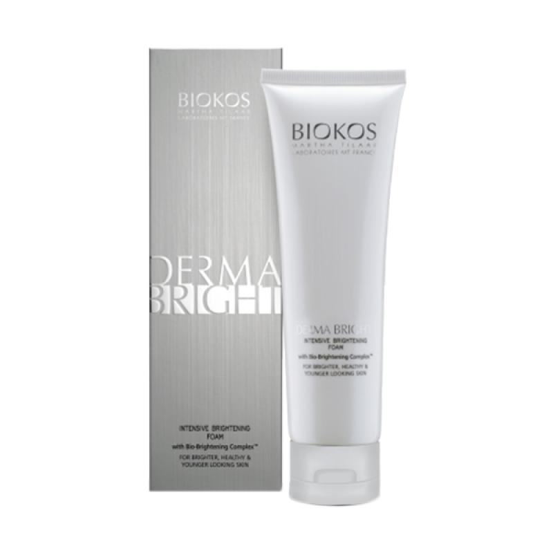harga Biokos Derma Bright Intensive Brightening Foam Blibli.com