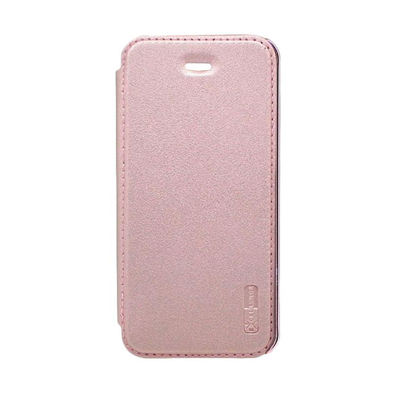 Excellence Electroplate Flip Cover Casing for iPhone 5