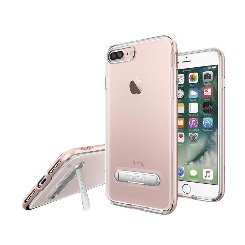 Spigen Crystal Hybrid Casing for iPhone 7 - Rose Gold