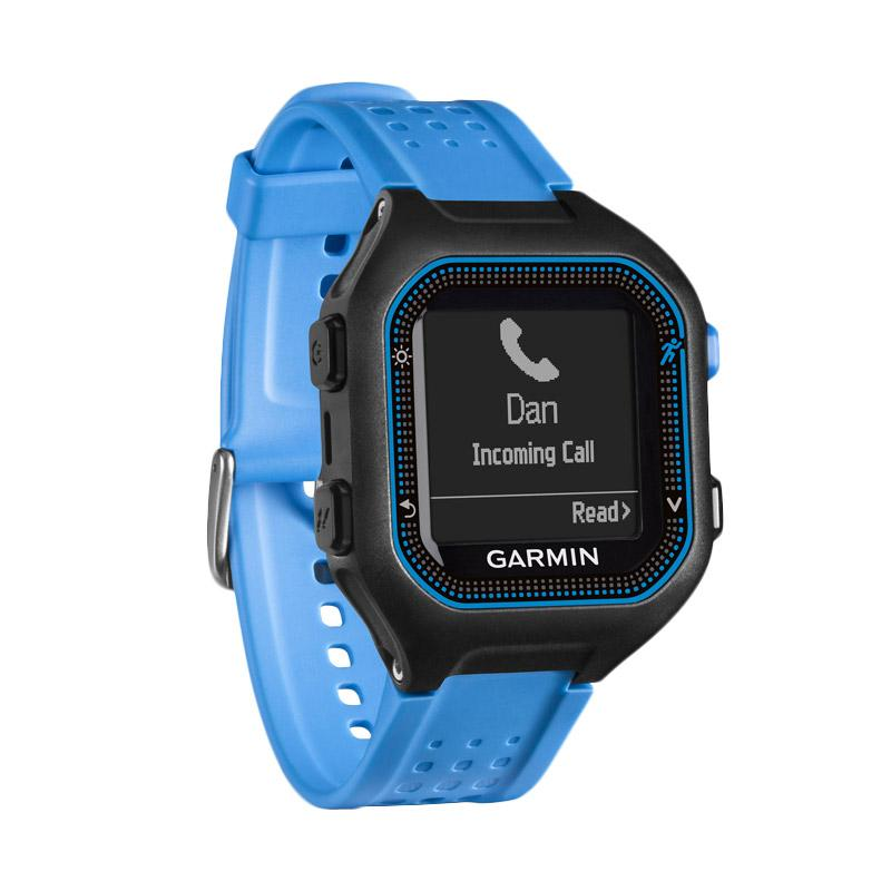 harga Garmin Forerunner 25 Activity Tracker - Black Blue Blibli.com