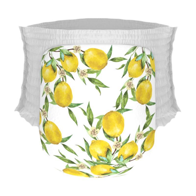 Happy Diapers Pant Popok Bayi - Lemons [Size M/30 pcs]