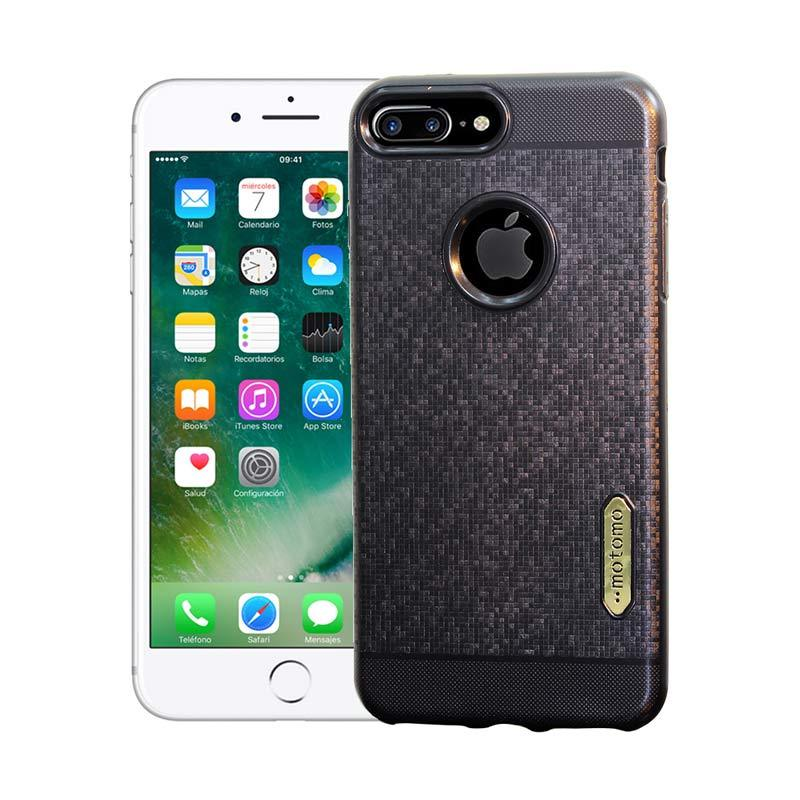 Motomo Softcase Casing for iPhone 7 Plus - Black