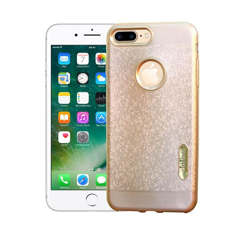 Motomo Softcase Casing for iPhone 7 Plus - Gold