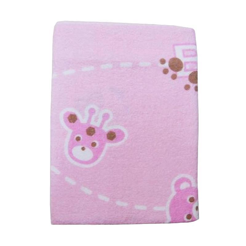 Cotton Tree Jepang Animal Handuk Bayi - Pink