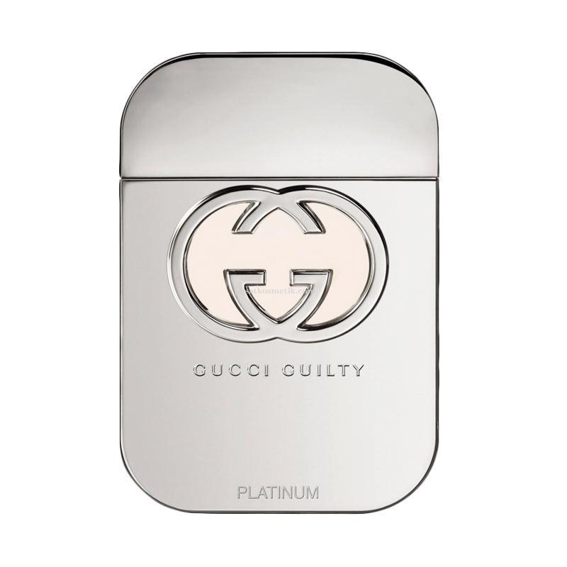 Gucci Guilty Platinum EDT Parfum Wanita [75 mL]