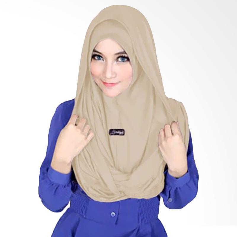 Kus Group Sosor Twist Hijab - Coklat Muda