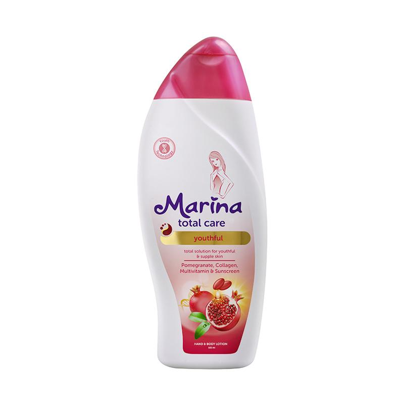 Marina Total Care Youthful Hand and Body Lotion [500 mL]