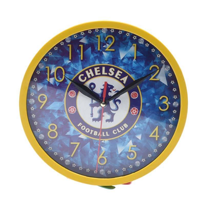 Miracle Club Bola Chelsea Ring Jam Dinding - Kuning [20cm]