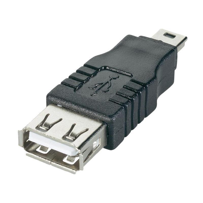 OEM USB Female to Mini USB Male OTG Konektor Adapter