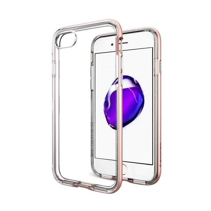 Neo Hybrid Crystal Casing for iPhone 7 Plus - Rose Gold