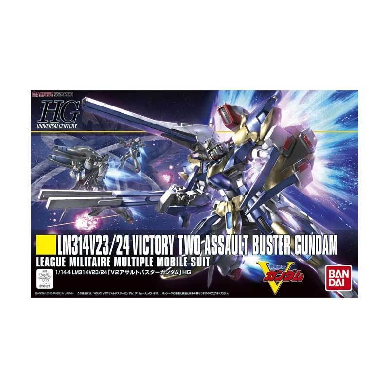 Bandai HG Victory Two Assault Buster Model Kit [1:144]