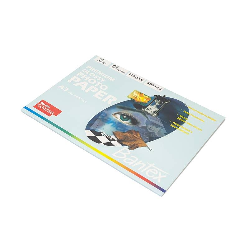 harga Bantex  #8001 03 Ink Jet Photo Paper A3 Premium [225g / 10 sheets] Blibli.com