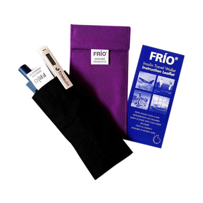 Frio Duo Wallet Dompet Pelindung Insulin - Ungu