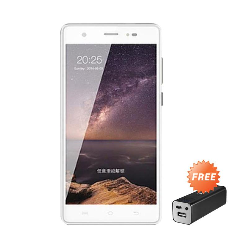 Lava Iris 758 Smartphone - Gold [8GB/ 1 GB] + Free Powerbank 5000Mah