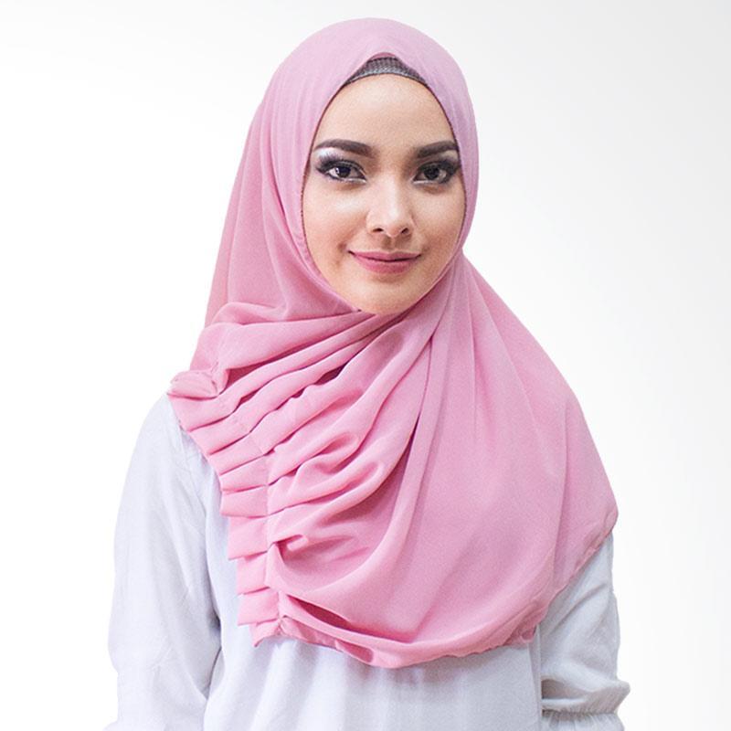 Milyarda Hijab Aliqa Kerudung Instan - Pink