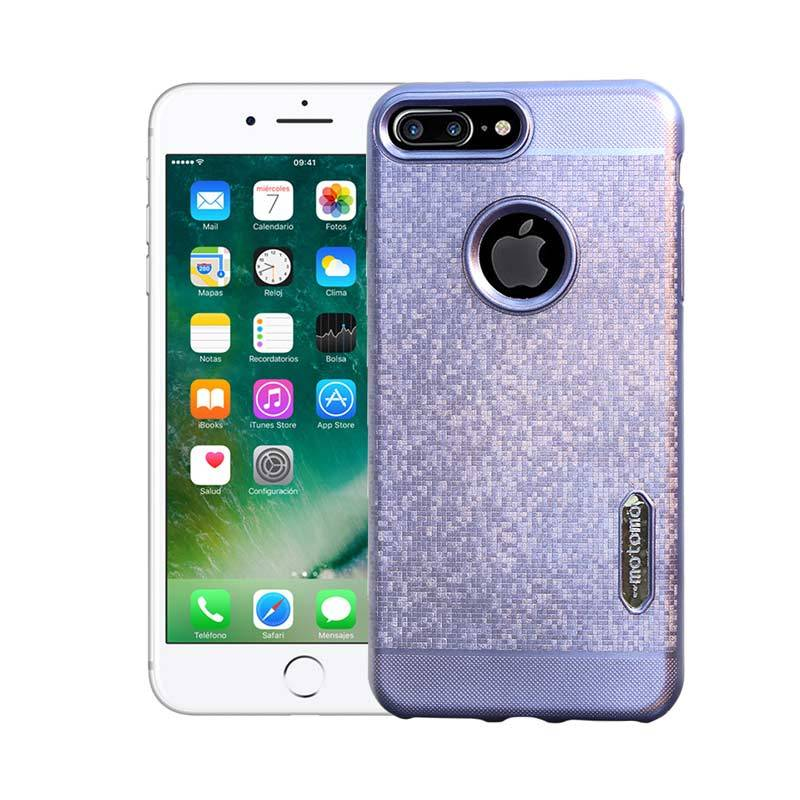 Motomo Softcase Casing for iPhone 7 Plus - Blue