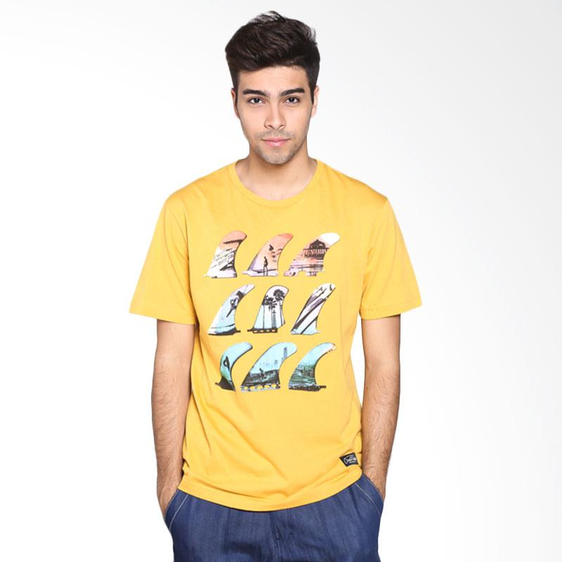 Ocean Pacific Fashion 03MTF96885 Mens T-Shirt - Gold