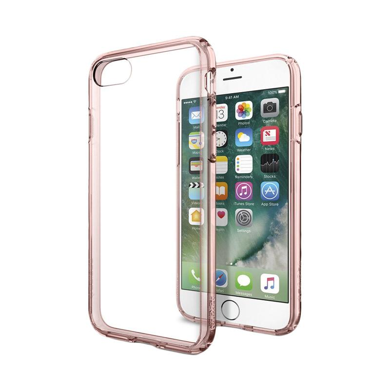 Spigen Ultra Hybrid Casing for iPhone 7 - Rose Crystal [042CS20445]