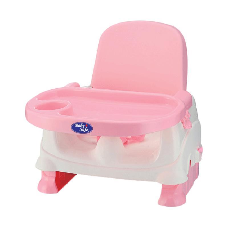 BabySafe BO01P Booster Seat Kursi Makan Bayi - Pink