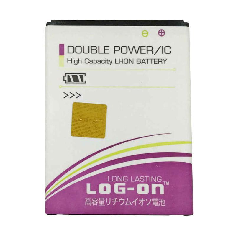 Log On Battery Baterai Double Power for Asus Zenfone 4 [2400 mAh]