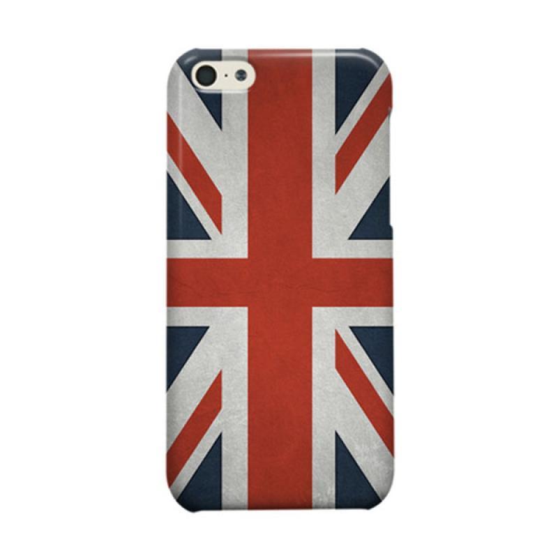 Indocustomcase Union Jack Casing For Apple iPhone 5C